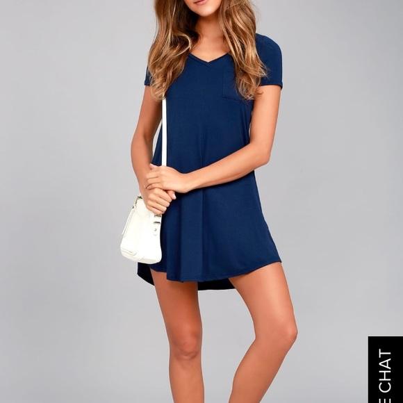 2568f503f Lulu's Dresses | Better Together Tshirt Dress Lulus | Poshmark